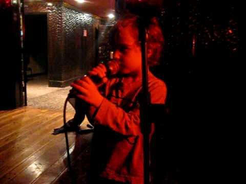Charlie Doing Karaoke At Friar Tuck