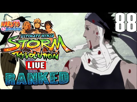 Naruto Storm Revolution : Gangster Paradise - Live Ranked Ep. 88