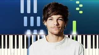 Louis Tomlinson - Two of Us (Piano Tutorial) Video