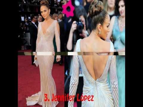 Vestidos de noche de actrices famosas