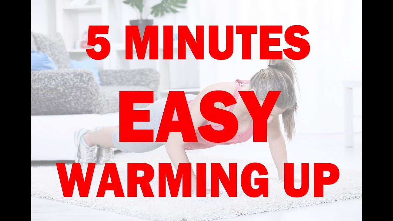 5 Minutes Beginners Warm Up Exercises Before Workout At Home For Women