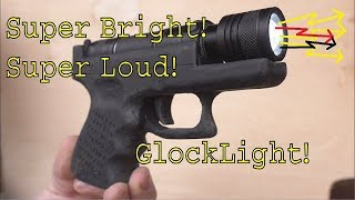The Glock that shoots Light! (AKA How to get shot in America)