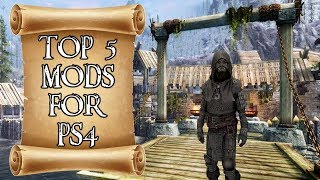 Top 5 Mods of the Month for Skyrim on PS4 #5