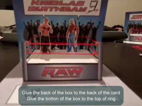 Wwe 3d popup birthday card youtube wwe 3d popup birthday card bookmarktalkfo Image collections