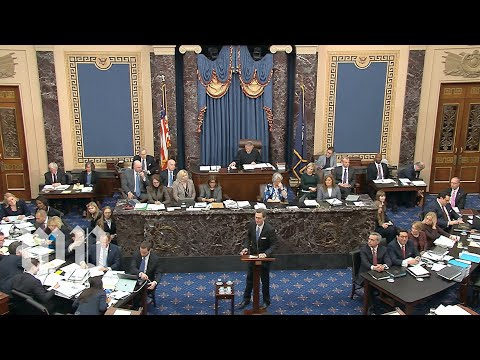Impeachment Trial Of President Trump | Jan. 21, 2020 (FULL LIVE STREAM)
