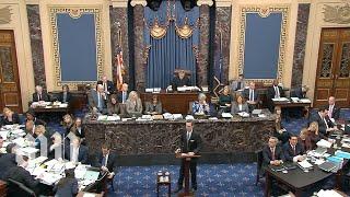Impeachment Trial Of President Trump | Jan. 21, 2020  Full Live Stream
