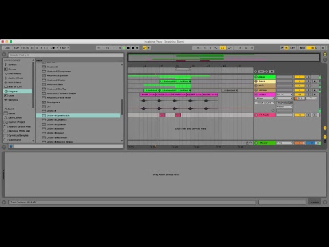 Studio Session With Alex Menco. Making Inspiring Cinematic Track in Ableton Live.