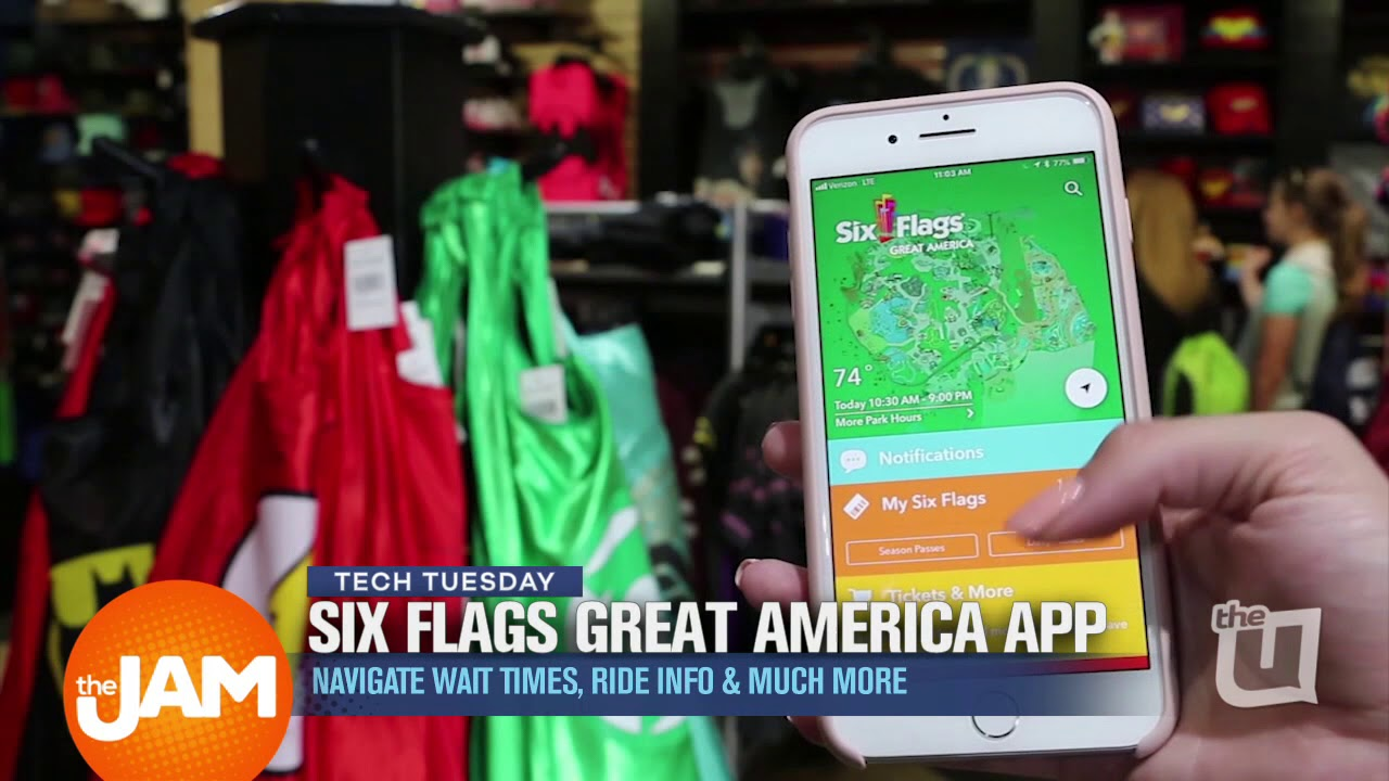 Tech Tuesday | Six Flags Great America App