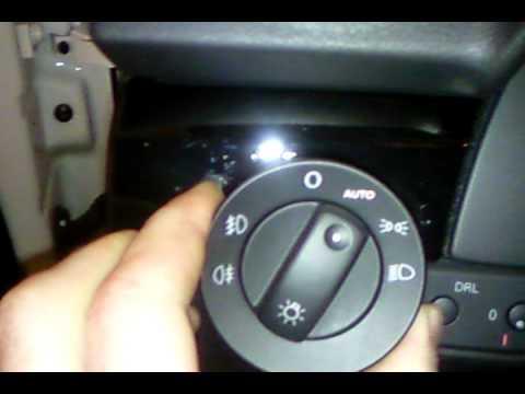 Sacar conmutador luces seat exeo youtube - Conmutador de luz ...