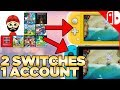 Using 1 Account On Nintendo Switch & Switch Lite -  Playing Your Digital Purchases & Cloud Saves