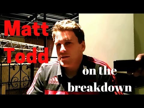 #SuperRugbyFinal - Matt Todd on the breakdown