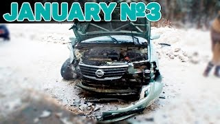 Crazy Russian Drivers 2017 - DRIVING FAILS, ROAD RAGE & CAR JANUARY Compilation №3[Drift Crash Car]