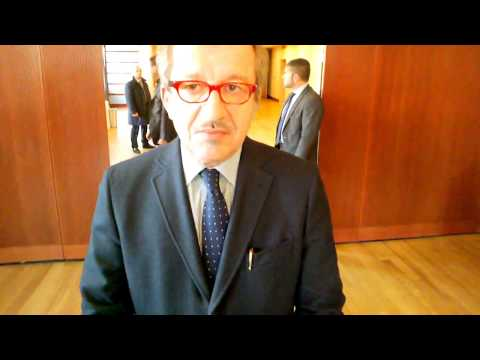 CI Interview with Lombardy Governor Roberto Maroni at italianiEuropei in Milan, Nov  25,2013