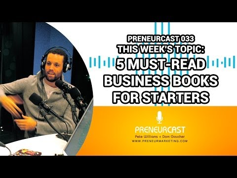 The Best Business Books for Beginners [Preneurcast033]