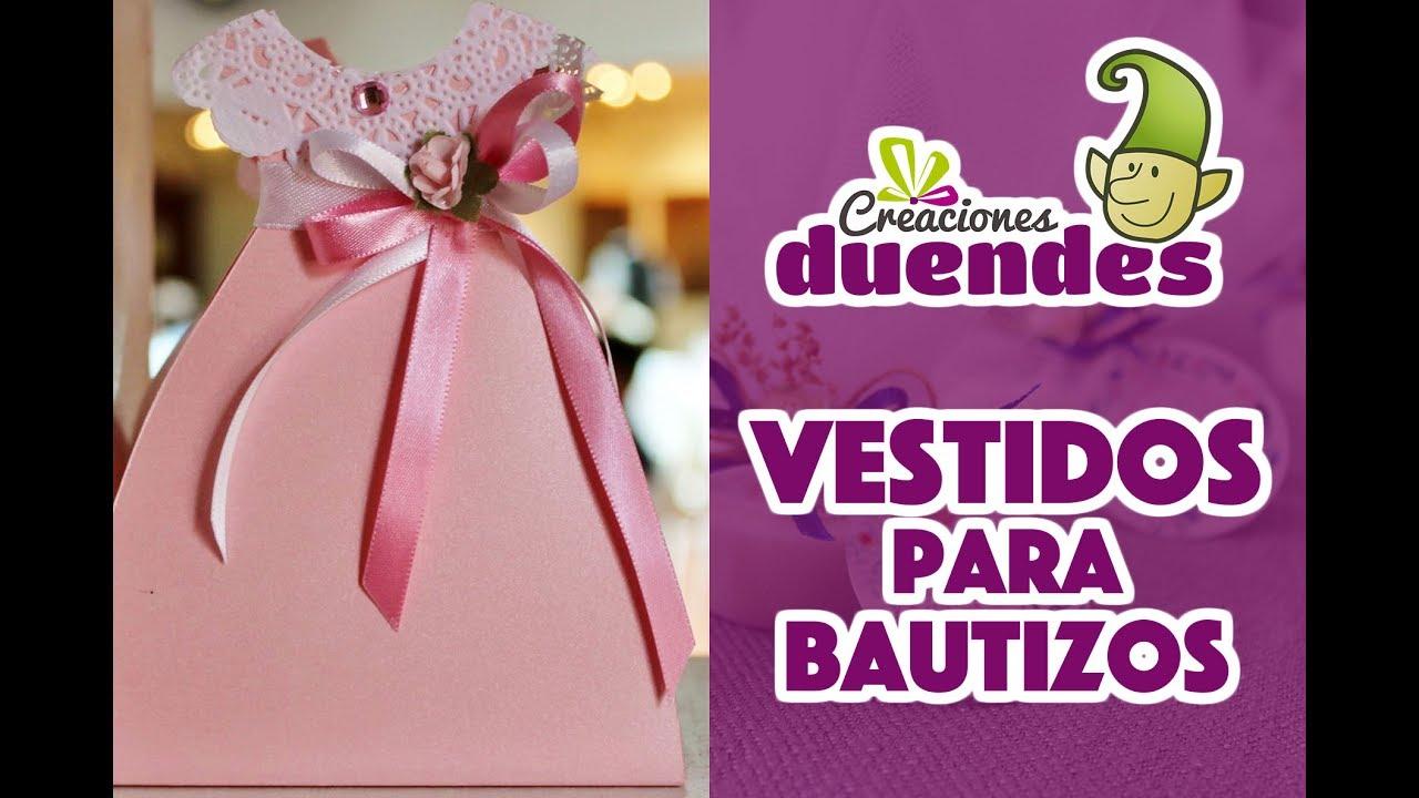 Vestidos para decoración Bautizos - Creaciones Duendes - Programa No ...