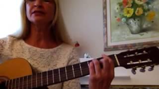 Видео-урок. Как играть на гитаре. Родина - Трофим ( Am аккорды)