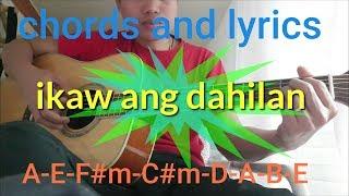 Ikaw ang dahilan LYRICS and chords by jerry angga