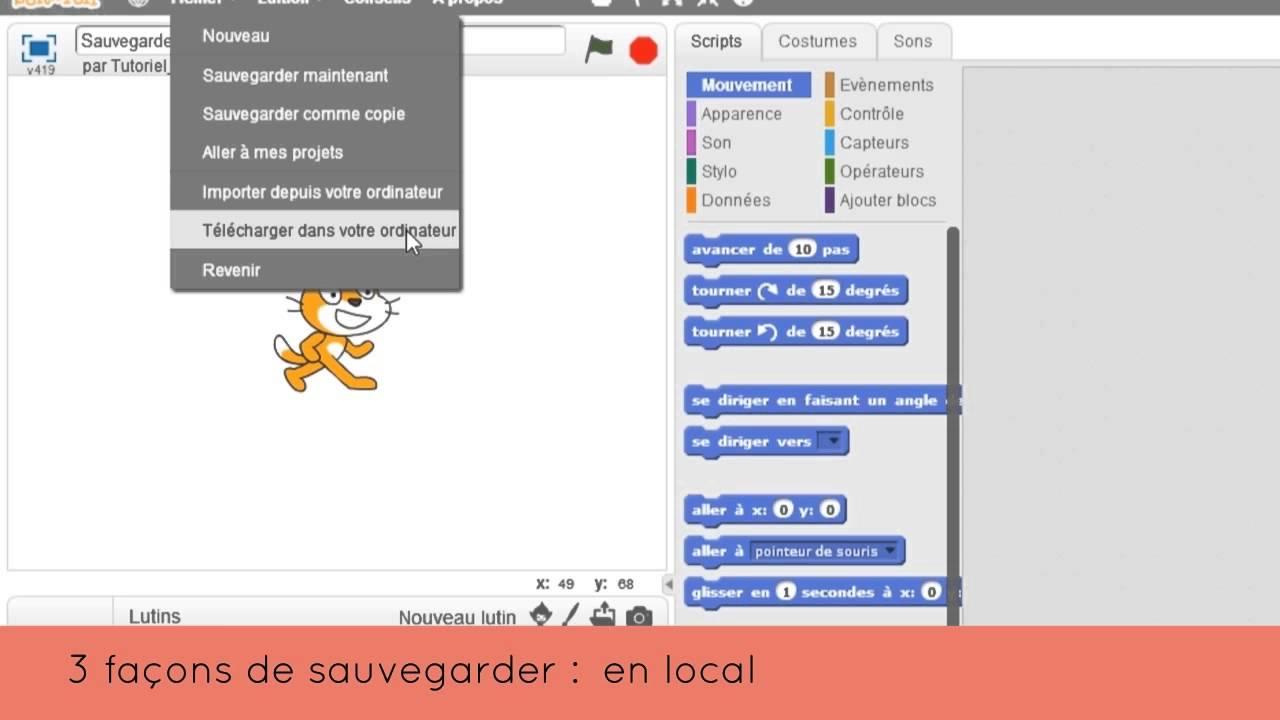 Sauvegarder et partager son projet - Tutoriel Magic Makers - YouTube 9cb4a21649c9