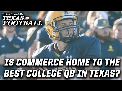 The best college QB in Texas might be A&M Commerce's Luis Perez