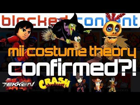 Mii Costume Theory NEWCOMERS Finally CONFIRMED?! Super Smash Bros. Ultimate LEAK SPEAK!