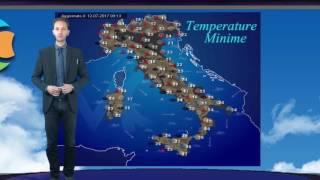 Previsioni meteo Italia 13 Luglio 2017