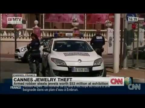 Robber steals $53 million worth of jewels in Cannes, police say