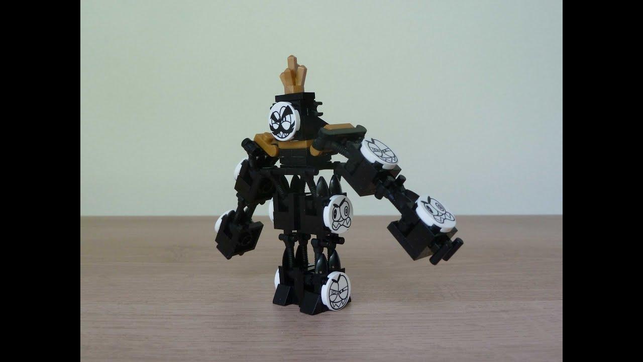 Lego mixels king nixel instructions model from lego club youtube