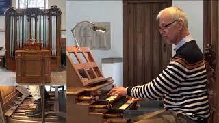 Rijk Jansen Improvisation - orgel Dorpskerk Wassenaar