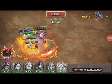 Castle Clash (Taiwan Server) NEW Archdemon Real Damage #1 12.35 Billion