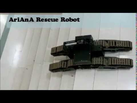 AriAnA 2014 New Rescue Robot ;-)