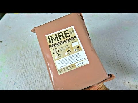 Testing Czech Republic MRE (Meal Ready to Eat)