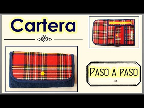 CARTERA O BILLETERA PASO A PASO | Yuyi's Creations
