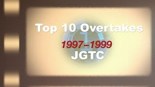 Top10 OVERTAKES 1997-99 (JGTC)
