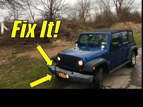 Doing Some Maintenance On The Jeep Wrangler How To