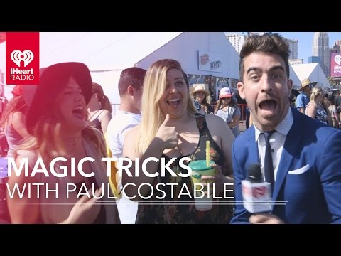 Magic With Paul Costabile + Free Tickets to iHeartRadio Music Festival