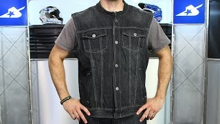 Speed and Strength Soul Shaker Denim Vest | Motorcycle Superstore