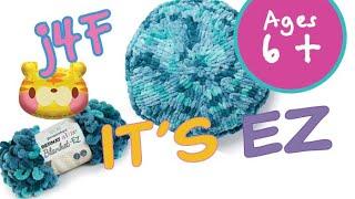 EZ Knitting Round Pillow
