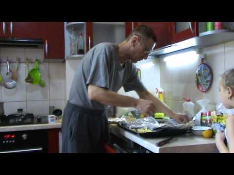 щука запечённая в духовке с картофелем