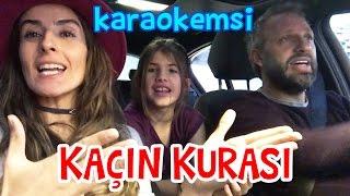 Arabada Karaokemsi Şarkı Söylüyoruz - Kaçın Kurası | Bizim Aile Eğlenceli Çocuk Videoları