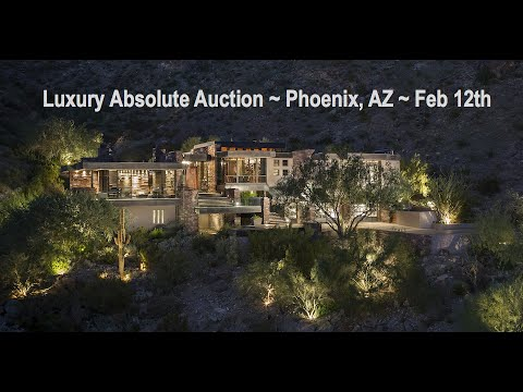 Modern Luxury Mansion For Sale In Phoenix AZ [8,900 Sq Ft]