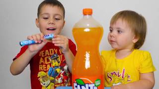 Coca Cola Finger Family Song Nursery Rhymes for Kids