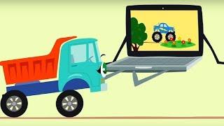 Бибика - мультфильм про машинки🚗 - все  серии сразу - мультфильм для самых маленьких