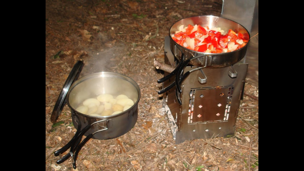 Bug Out Camp : Firebox stove review stealth camp bug out location youtube