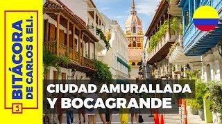 Qué hacer en Cartagena #1 👉 Playas de Bocagrande y Ciudad Amurallada