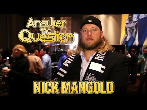 Nick Mangold goes on Super Bowl game show, answers New York trivia