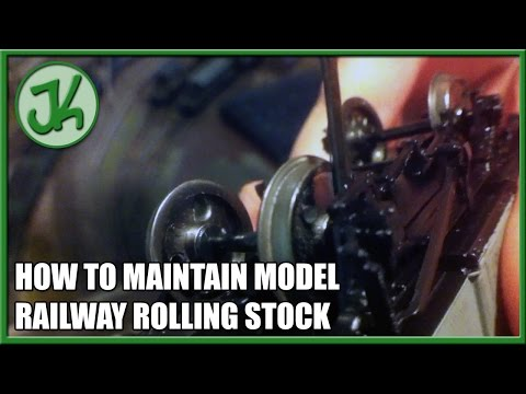 How to Maintain Model Railway Rolling Stock