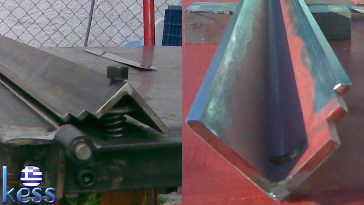 Sheet Metal Bender Brake DIY Sharpening the Brake's Edges ...