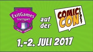Comic Con Germany 2017 Aftermovie | ExitGames Stuttgart