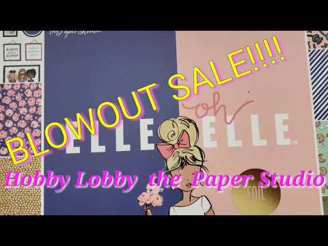 ENABLER ALERT!Hobby Lobby the Paper Studio BLOWOUT SALE!!!!💣💣💣