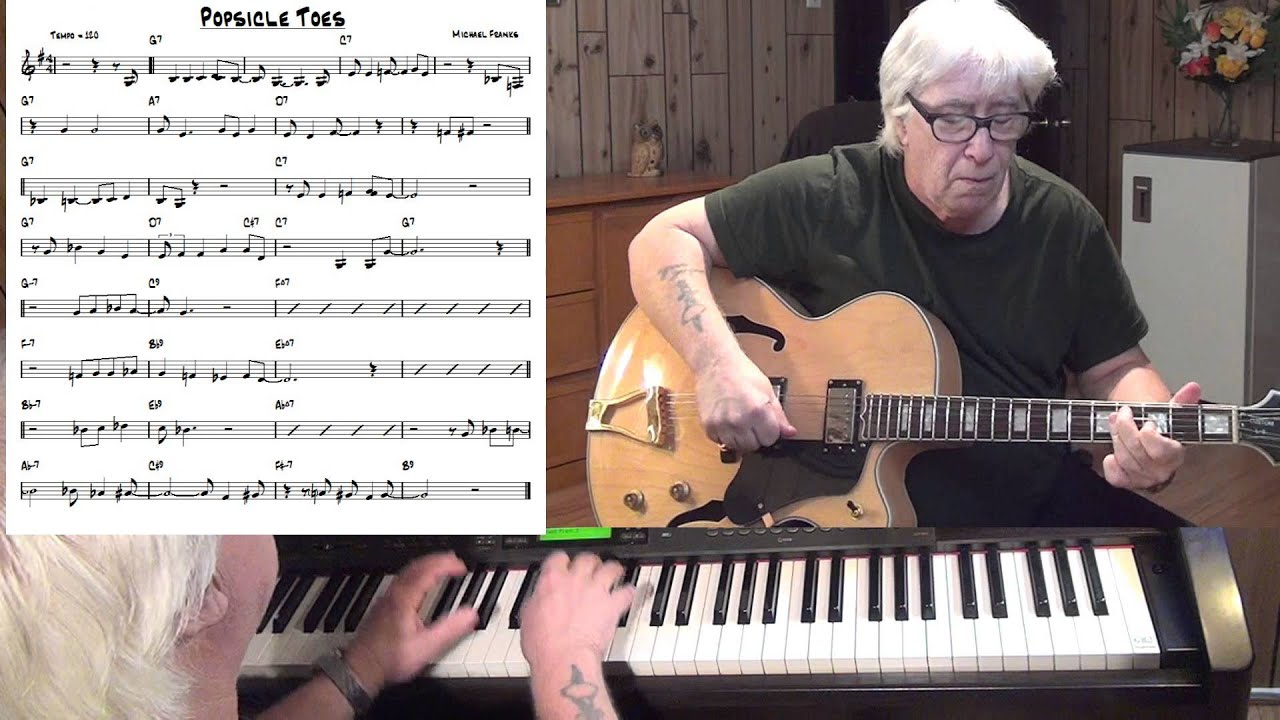 Popsicle Toes Jazz Guitar Piano Cover Michael Franks Youtube